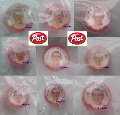 """1968-69 Post cereal marbles Canadiens """"MINT"""" in original bag!"""