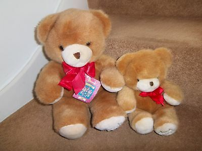 """NEW 18"""" 11"""" HARRODS FOOT DATED 1991 26th BIRTHDAY GIFT TEDDY BEAR SOFT TOYS"""