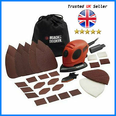 Black and Decker Mouse Detail Sander with Accessories *NEW*  UK SELLER