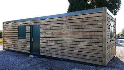 20 ft Cladded Shipping Container Office