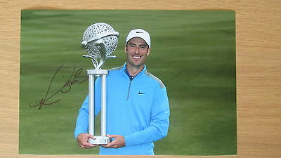 "hand signed 2014 Ryder Cup Golfer "" Ross Fisher "" 12"" x 8"" photo WITH COA"