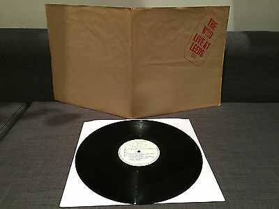 The Who - Live At Leed - 1St Uk Red