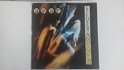 Adrian Smith And Project(Asap)  Silver And Gold Twelve Inch Poster Sleeve Single