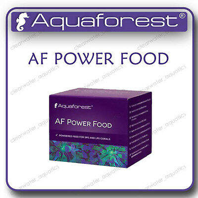 AQUAFOREST AF Power FOOD Coral LPS SPS Aquarium FISH Tank Supplement REEF