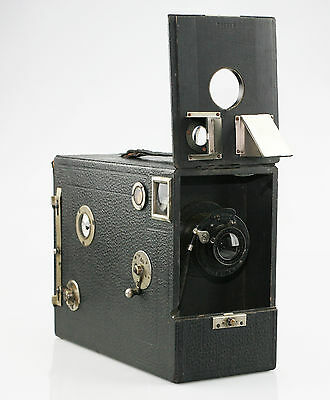 ERNEMANN Magazine Camera c.1895 in Excellent Condition - HIGHLY SCARCE (CZ73)