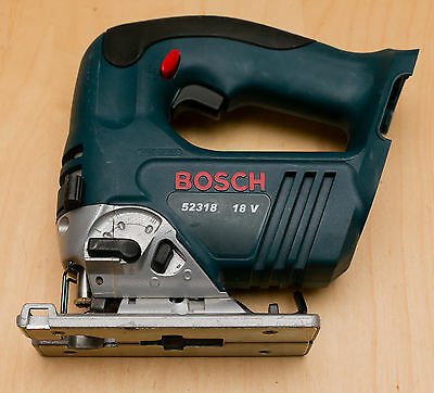18V Bosch 52318 Cordless Jig Saw Bare Tool Only 18 Volts Free Priority Shipping!