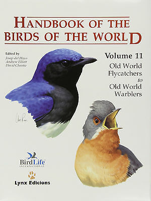 Handbook of the birds of the world, old world flycatchers to old world warblers