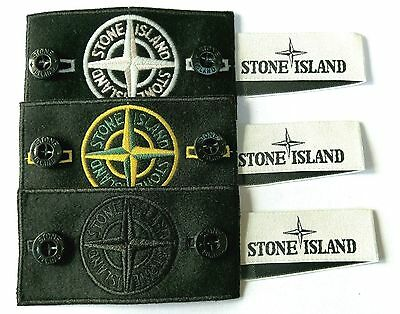 3X Genuine Stone Island Badges , Buttons, Labels *** Sale!!!!