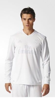 Authentic Adidas Real Madrid Long sleeve Limited edition Parley shirt - BNIB Med
