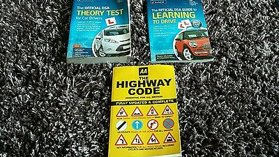 Driving test theory test books