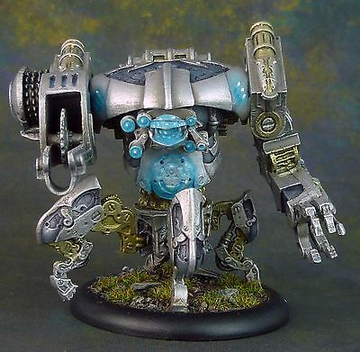 Warmachine Convergence Heavy Vector. Monitor. Fully Painted. Privateer Press.