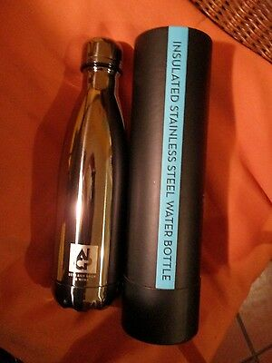 S ' WELL Bottles Titanium NYC Museum of Modern Art  collectible !