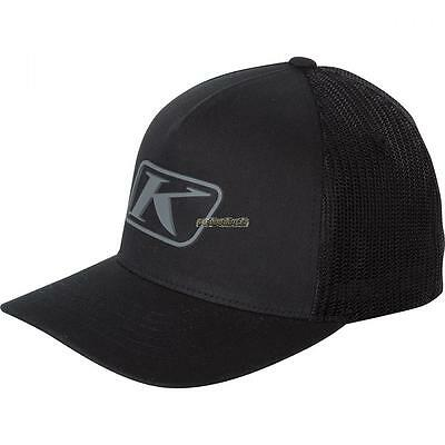 2017 Klim Icon Snap Back Hat - Black