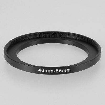46-55mm Adapterring 46mm-55mm Filteradapter 46 - 55 mm