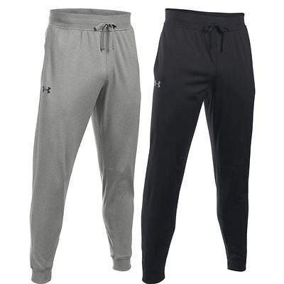 Under Armour 2017 Tricot Training Trousers Mens Tapered Leg Pant Jogger Bottoms