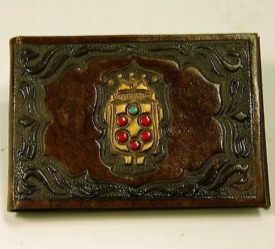 """Vintage Leather phone book 5"""" x 3 1/2"""""""