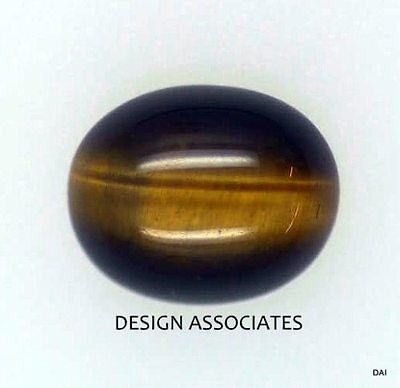 Tiger Eye 16X12 Mm Oval Natural Cabochon