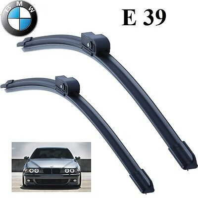 """BMW E39 5 Series 1995-2004 Front Wiper Blade Aero Set 22""""+26"""" Made in Germany"""