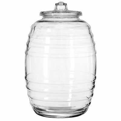 Libbey 9520004 Crisa 20 Liter Glass Barrel with Lid