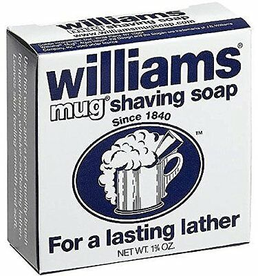 6 Pack Williams Mug Shaving Soap 1.75 Oz Each