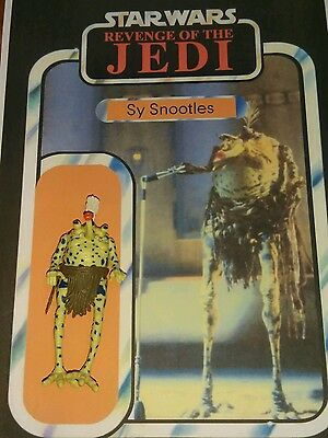 Vintage Star Wars Original Action Figure Sy Snootles of the Max Rebo Band 1983!!