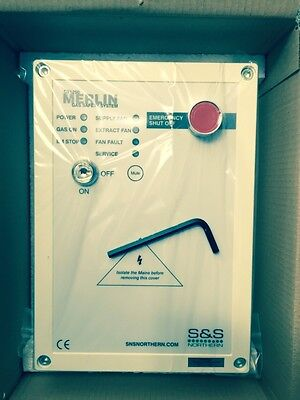 Gas interlock panel system CT1250 for commercial kitchen canopy catering parts