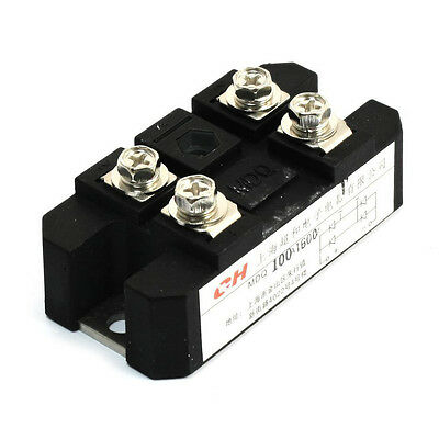 ChaoHe 100A 1600V Full Wave Diode Module One Phase Bridge Rectifier MDQ-100A SE