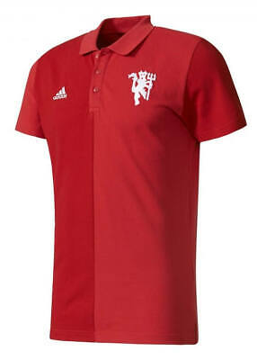 Manchester United Adidas Polo Shirt Seasonal Special Red 2017