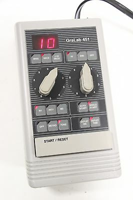 GraLab 451 High-Accuracy Digital Electronic Darkroom Timer *No FootSwitch*