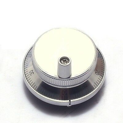 CNC Manual Pulse Generator MPG 6 Terminal 5V 60mm for engraving handwheel