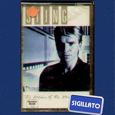 "Sting "" The Dream Of The Blue Turtles "" Musicassetta Sigillata  K7 (Mc)"