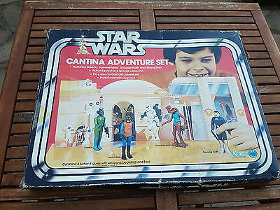 Vintage Star Wars 100% Original 1977 Cantina Adventure Set Boxed