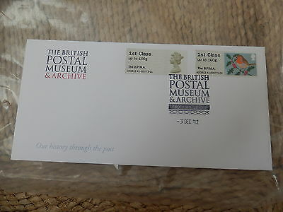 Bpma British Postal Museum & Archive Post And Go First Day Cover Fdc 2012