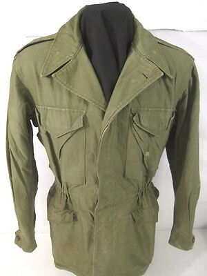 WWII US Army M43 M1943 Cold Weather Combat Field Jacket - Size 36R #3