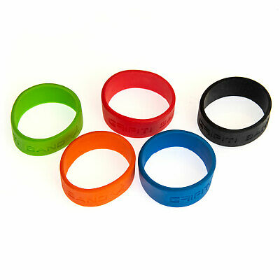 Grifiti Band Joes 2 Inch 5 Pack Tough Silicone Replaces Rubber or Elastic Bands