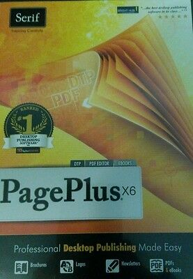 Serif PagePlus X6 Professional Desktop Publishing made easy - new, free delivery