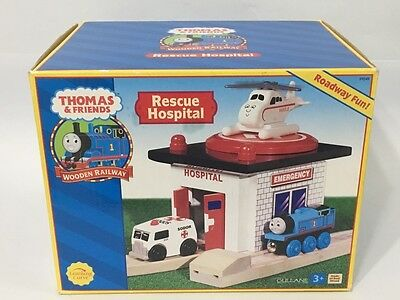 Thomas & Friends Wooden Rescue Hospital #99349 Brand New By Learning Curve 2002