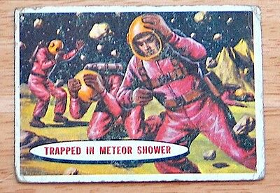1957 Topps Space Cards - Set Break Up - Individual Cards - Good (GD) condition