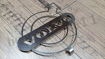 1 pcs.VOLVO FRONT LOGO DASHBOARD MADE OF MIRROR POLISHED STAINLESS STEEL