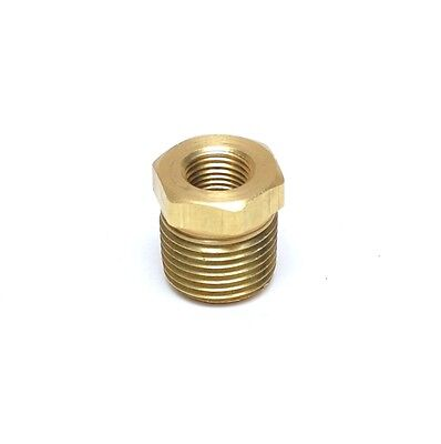 3/8 NPT Male x 1/8 NPT Female Brass Reducer bushing adapter FasParts