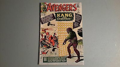 The Avengers #8 Silver Age Comic Book VG