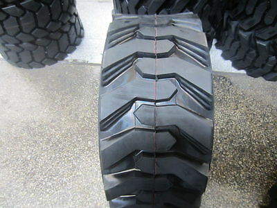 4 New 14X17.5 G/14Ply Skid Steer Tires for Bobcat & others 14-17.5 14175 (SKS1)