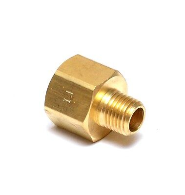 "Reducer Pipe Adapter Male Female 1/2"" Female NPT to 1/4"" Male NPT Thread"