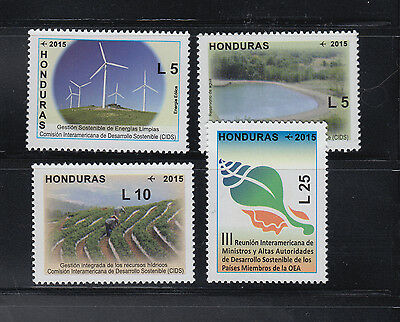 Honduras 2015 Substainable Development Complete mint never hinged