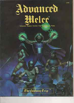 The Fantasy Trip Advanced Melee Supplement RPG