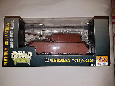 "Carro Armato German ""MAUS"" German Army - Scala 1:72 Die Cast - Easy Model- Nuovo"