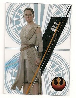 2016 Star Wars High Tek Pattern 2 Form 2 #sw-75 Rey