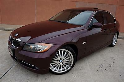 2008 BMW 3-Series Base Sedan 4-Door CLEAN 08 BMW 335I DUAL TURBO SPORT PREMIUM PKG HEATED CARFAX CERTIFIED MUST SEE!