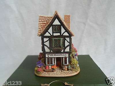 Lilliput Lane Little Shambles - with deeds and box