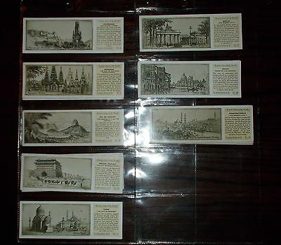 Tea Card Odds Typhoo Wonder Cities Of The World 1933 Choose Individual Card